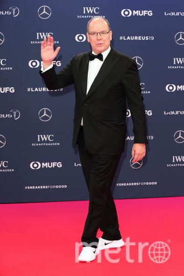 Laureus World Sports Awards 2019. Князь Монако Альберт. Фото Getty