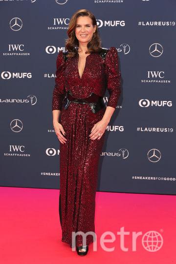 Laureus World Sports Awards 2019. Катарина Витт. Фото Getty