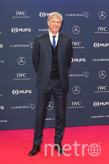 Laureus World Sports Awards 2019. Арсен Венгер. Фото Getty