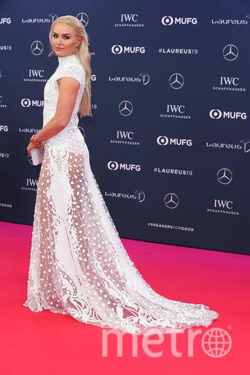 Laureus World Sports Awards 2019. Линдси Вонн. Фото Getty