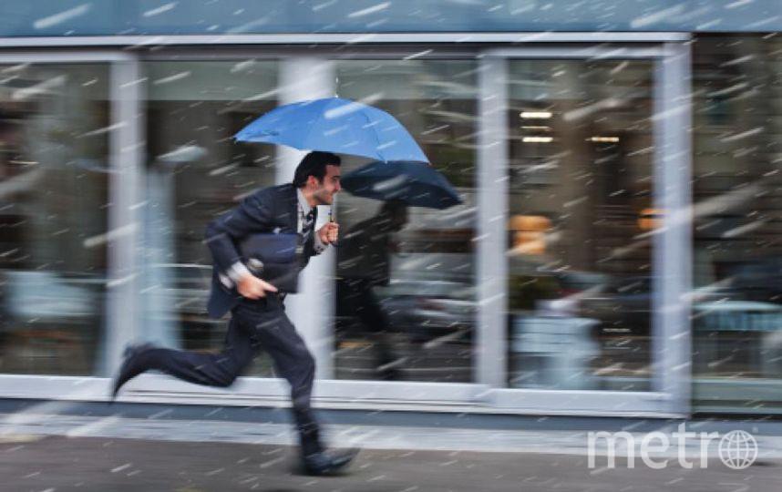 В Петербурге будет дождь, снег, а затем морозно. Фото Getty