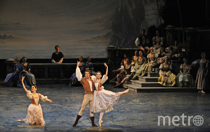 Балерина Медани Хамрик (слева). Фото Getty
