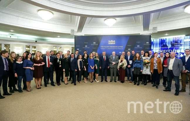 поздравления с Днем российской печати думского пула журналистов.
