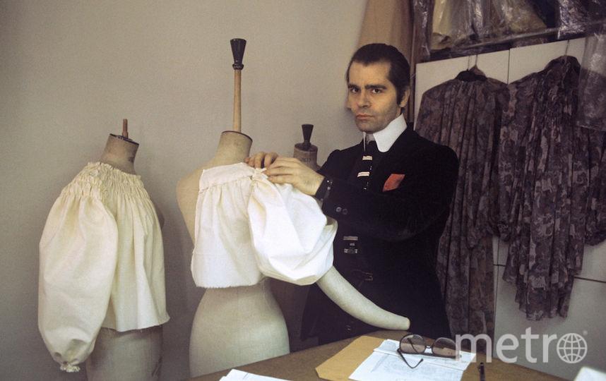 Лагерфельд в 1979 году. Фото Getty