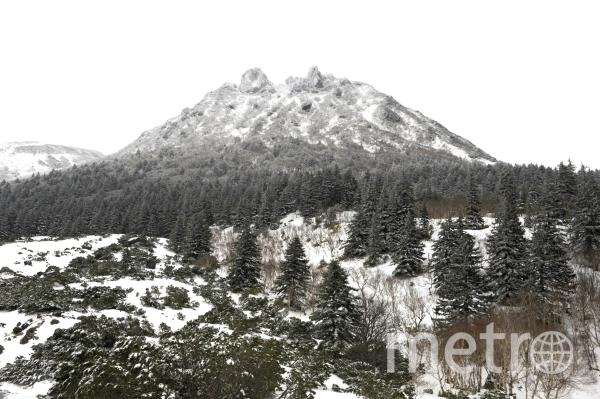 Вулкан Менделеева на острове Кунашир. Фото РИА Новости