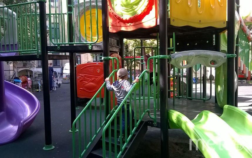 Детская площадка на Чайковского. Фото mytndvor, vk.com