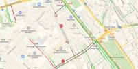 В среду ряд улиц в центре Москвы перекрыто