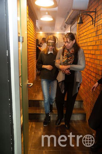 Репортёра Metro на время лишили глаз, ушей, рук и ног. Фото Василий Кузьмичёнок