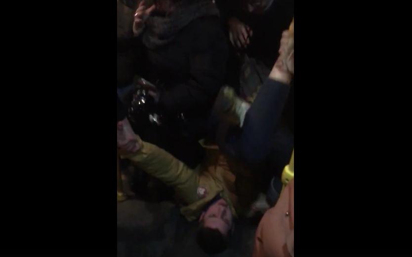 О конфликте в автобусе рассказали сами пассажиры. Фото https://vk.com/spb_today, vk.com