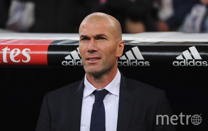 "Зинедин Зидан, экс-тренер ""Реала"". Фото Getty"