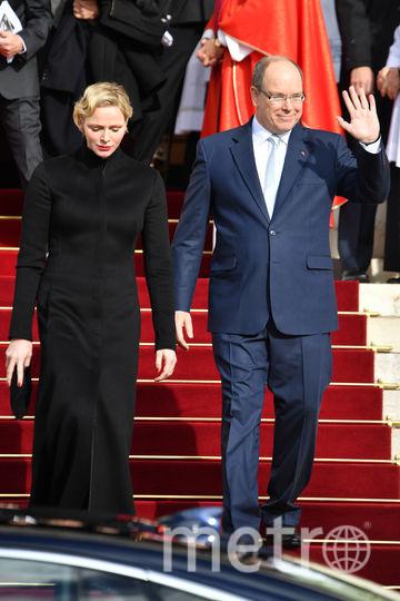Княгиня Шарлен с мужем. Фото Getty