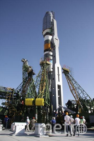 "Ракета-носитель ""Союз 2.1б"". Фото www.roscosmos.ru"