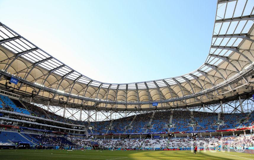 Футбольный стадион в Волгограде. Фото Getty