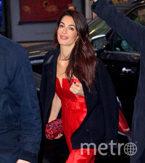 Гости вечеринки Меган Маркл в Нью-Йорке. Амаль Клуни. Фото Getty