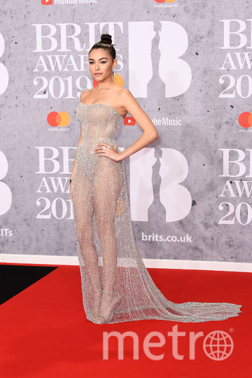 The Brit Awards-2019. Мэдисон Бир. Фото Getty