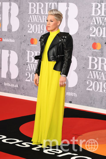 The Brit Awards-2019. Пинк. Фото Getty