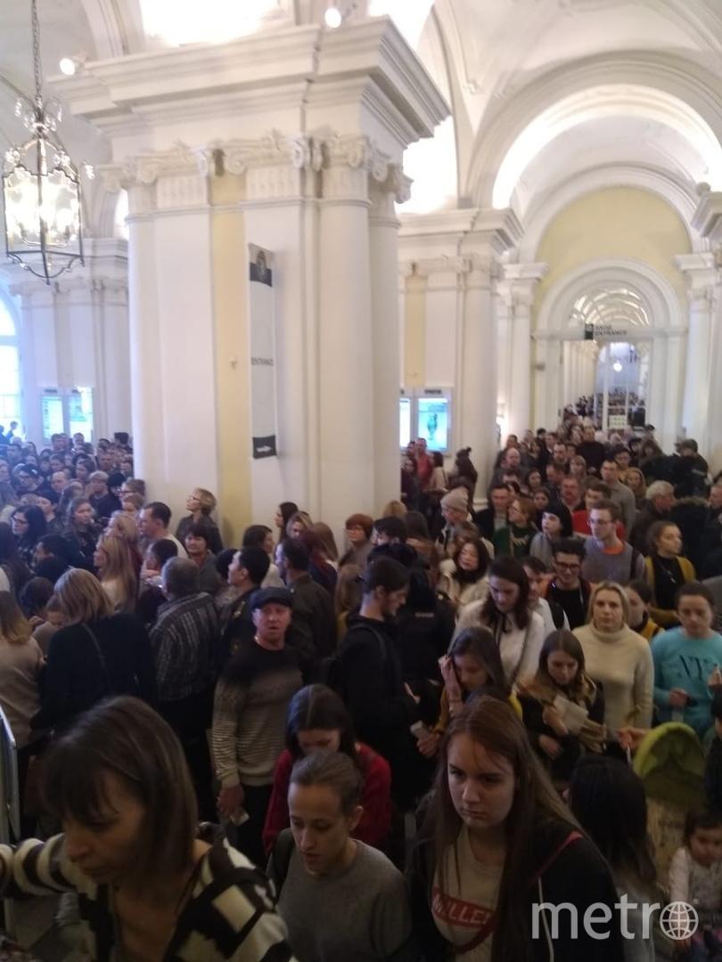Эвакуация в Эрмитаже. Фото ДТП и ЧП | Санкт-Петербург | vk.com/spb_today., vk.com