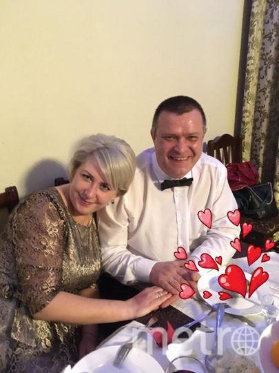 """Михаил и Екатерина Алябышевы Мы снова встретились.... спустя 22 года и наша встреча это начало новой жизни. Мой муж, моя любовь, счастье, радость каждой минуты, опора, защита. Я очень тебя люблю!. Фото """"Metro"""""""