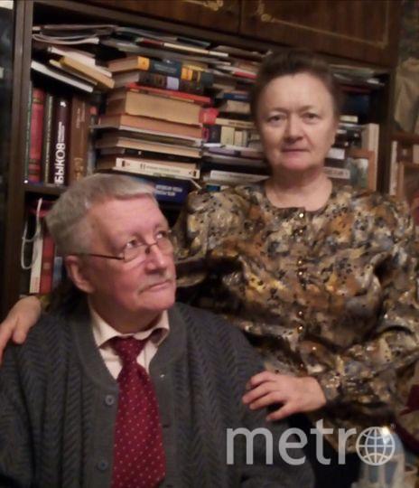 """Мои родители, как за каменной спиной уже 38 лет. Фото """"Metro"""""""