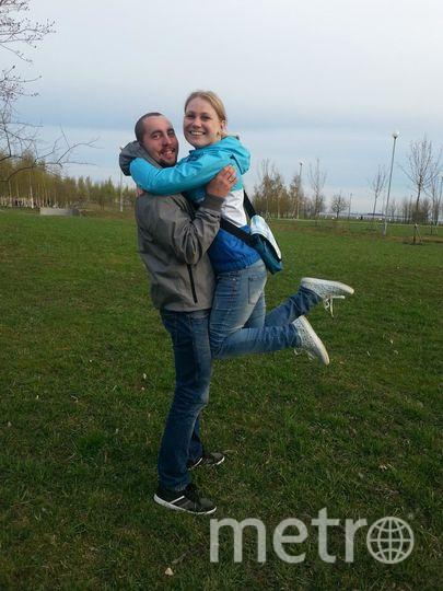 """Я счастлива, что в моей жизни есть ты-мой муж, защитник и опора! Ты всегда поддерживаешь меня, воодушевляешь и вдохновляешь! Я благодарна тебе за твою заботу и терпение. С тобой хоть на край света. Фото Ольга и Алексей Бобылевы.., """"Metro"""""""