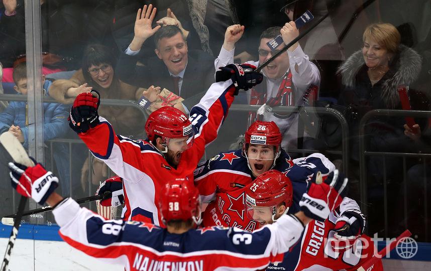 ЦСКА чаще других выигрывал Кубок Континтента. Фото photo.khl.ru | Юрий Кузьмин