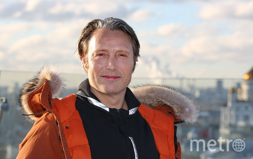 Мадс Миккельсен в Москве. Фото PR- агентство Sarafan