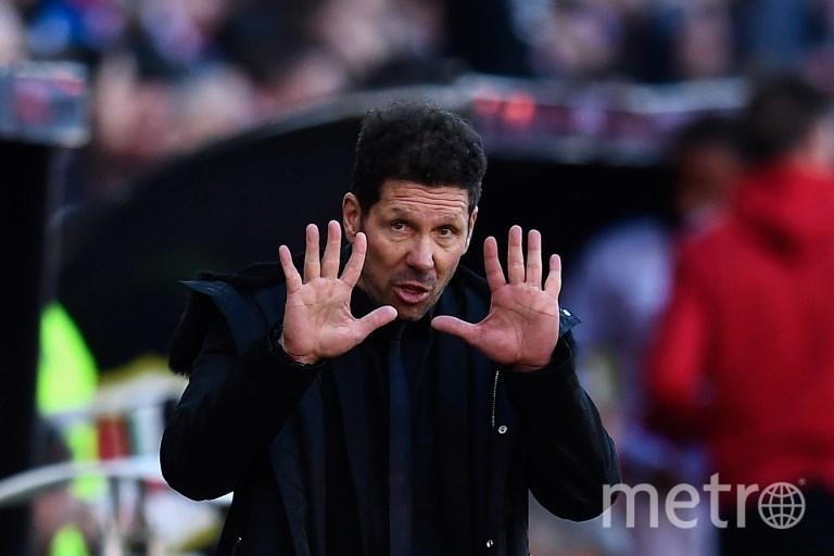 Диего Симеоне. Фото AFP