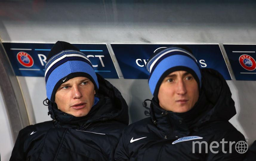 Бывший российские футболисты Андрей Аршавин и Владимир Быстров. Фото Getty