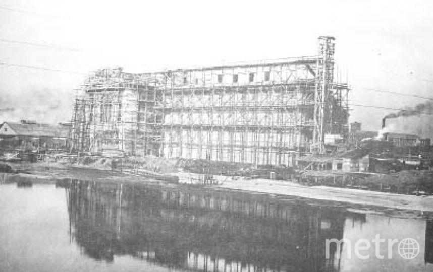 """Строительство, 1914 год. Фото """"Metro"""""""