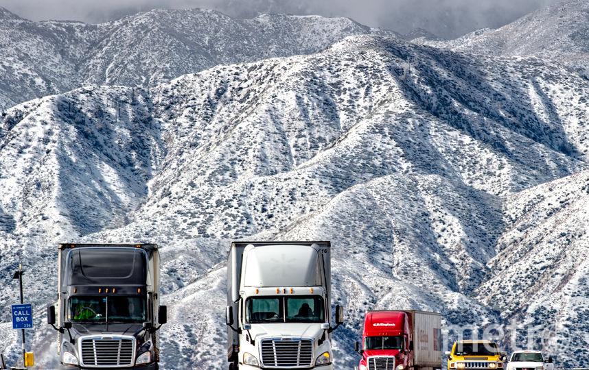 Местами снега выпало до 20 см. Фото Getty