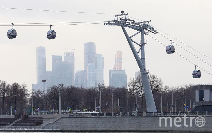 Московская канатная дорога. Фото Василий Кузьмичёнок
