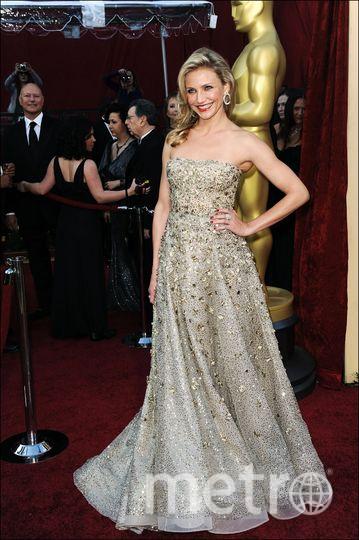 Камерон Диаз в платье дизайнера Оскара де ла Рента за 62 тысяч долларов в 2010 году. Фото Getty
