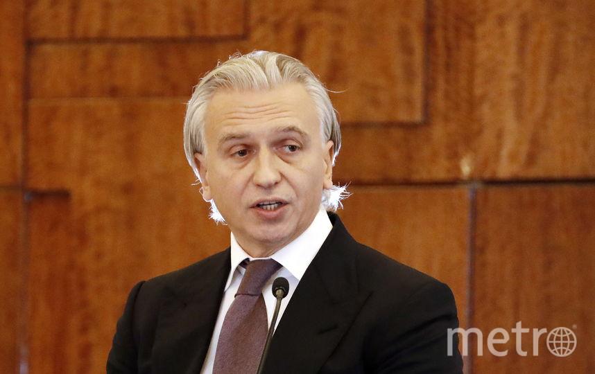Новый президент РФС Александр Дюков. Фото Getty