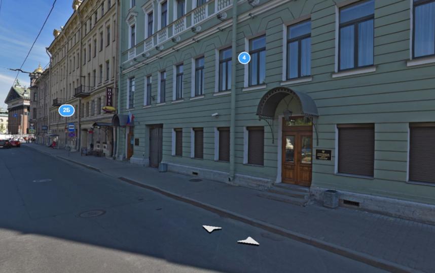 Особняк В. А. Поклевского-Козелла. Фото Яндекс.Панорамы