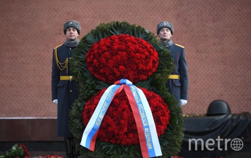 Венок. Фото РИА Новости