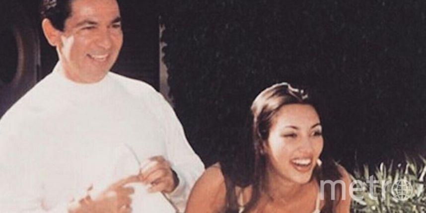 Топ-модель и секс-символ США Ким Кардашьян показала, какой была в 16 лет