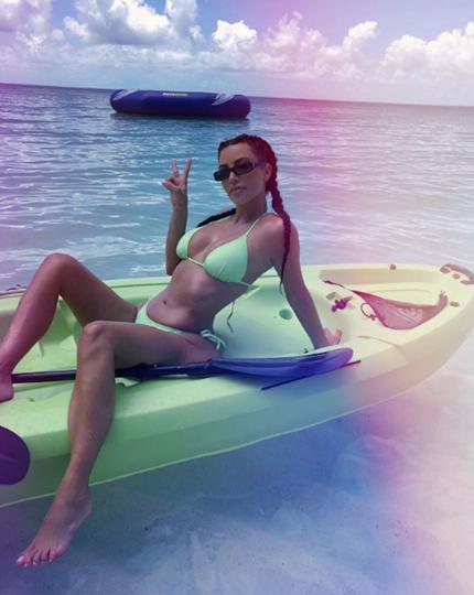 Ким Кардашьян. Фото Скриншот Instagram/kimkardashian