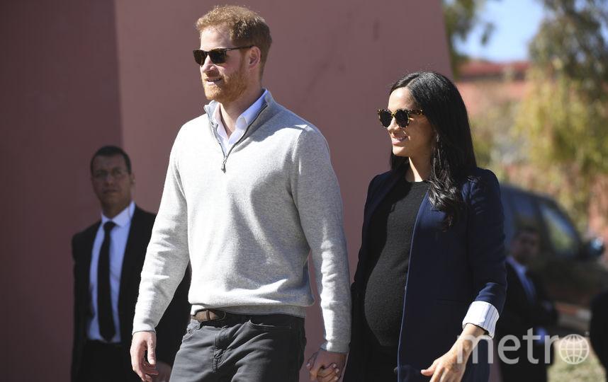 Принц Гарри и Меган Маркл в Марокко. Фото AFP