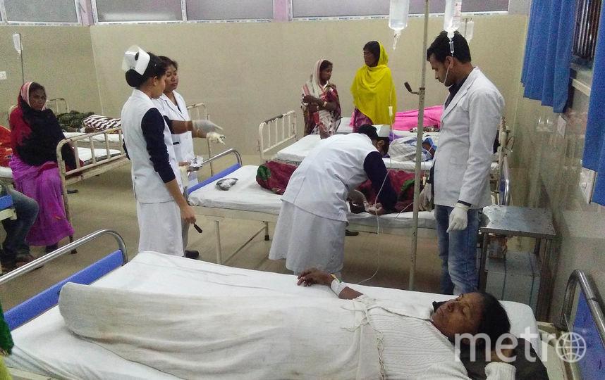 Более 170 человек находятся в больницах. Фото AFP