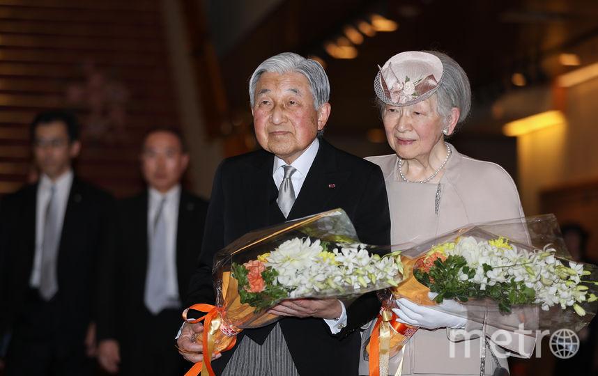 Император Акихито и императрица Митико. Фото AFP