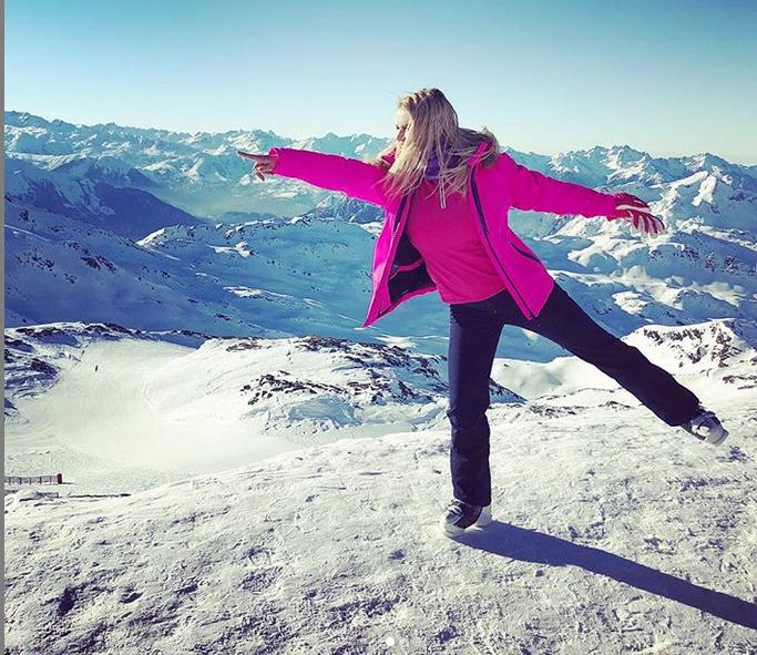 Анна Семенович, фотоархив. Фото скриншот https://www.instagram.com/ann_semenovich/