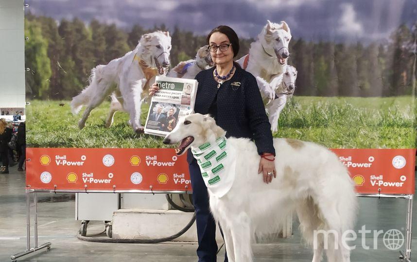 Марина Островская и её пёс Гусар. Фото Ольга Кабанова