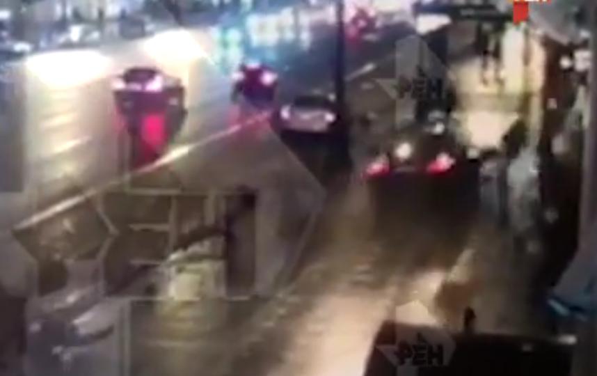 ДТП в центре Петербурга унесло две жизни. Фото скриншот видео https://vk.com/spb_today