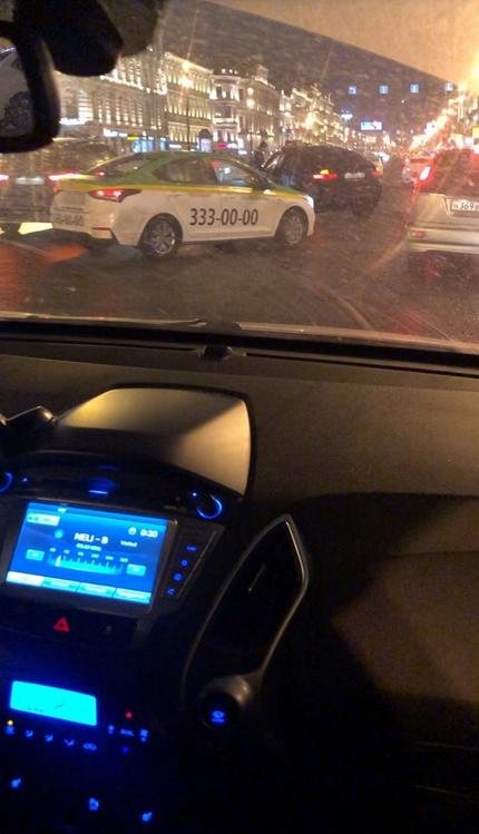 ДТП в центре Петербурга унесло две жизни. Фото https://vk.com/spb_today