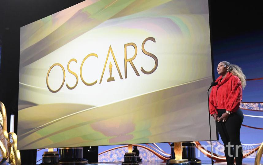 "Серена Уильямс на репетиции перед ""Оскаром"". Фото AFP"