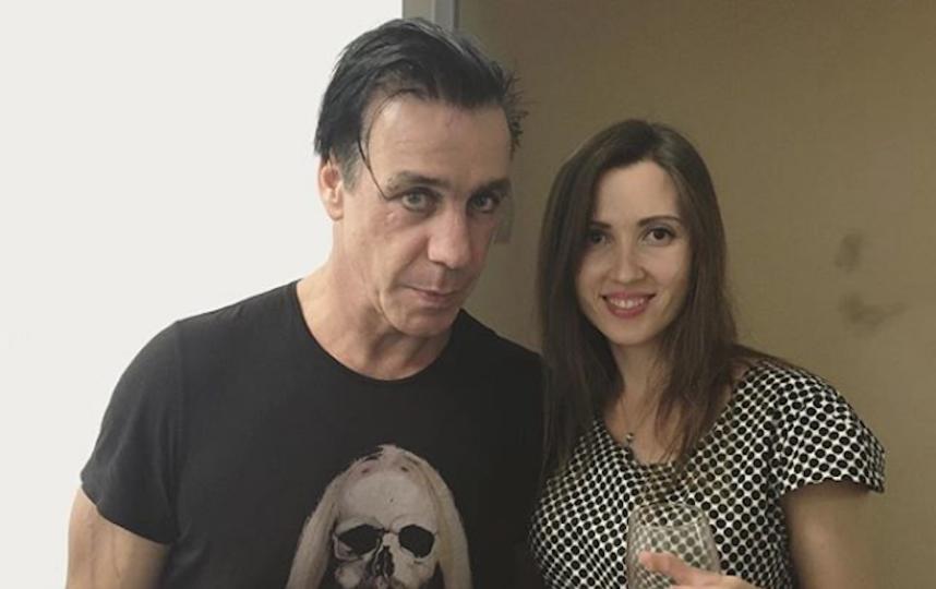 Алёна и звезда Rammstein Тилль Линдеманн. Фото Скриншот Instagram/alena_makeeva