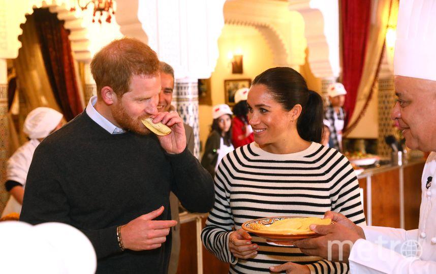 Принца Гарри и Меган Маркл угощали местными блюдами. Фото Getty