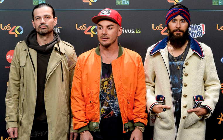 Thirty Seconds to Mars. Фото Getty