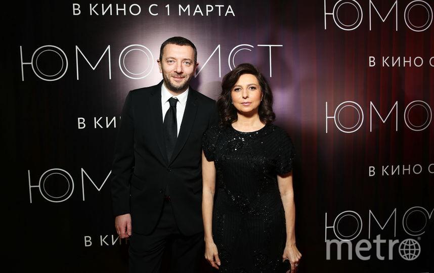 Алексей Агранович и Алиса Хазанова. Фото Предоставлено организаторами мероприятия.