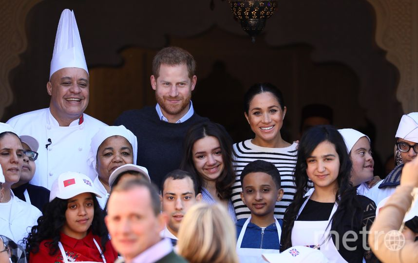 Принц Гарри и Меган Маркл в Марокко. Фото Getty